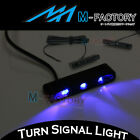 M-Factory Mini LED Front Riding Running Light Blue Lighting APRILIA Fairing