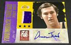 JERRY WEST 13-14 Panini Elite THROWBACK THREADS GOLD PRIME AUTO PATCH SP #04 10!