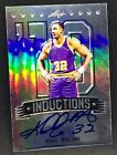 KARL MALONE 2013 Leaf Metal INDUCTIONS REFRACTOR ON-CARD AUTO AUTOGRAPH #41 50 !