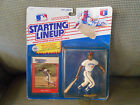 Vintage 1988 Starting Lineup MLB Mel Hall Cleveland Indians Kenner SLU