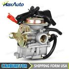Carburetor Carb For Scooter GY6 50CC 139QMB Moped 100cc SUNL BAJA w Fuel Filter