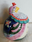 Fitz & Floyd Gypsy Chicks Cookie Jar