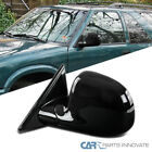 94 98 S10 Blazer S15 Jimmy Sonoma Glossy Black Left Driver Power Side Mirror