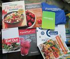 WEIGHT WATCHERS POINTS PLUS PLAN FLEX  CORE COOKBOOK 2 EATING OUT BOOKS+MORE