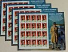 UN USED 100 of US Postage Stamps Multiples and Singles of 15  Stamps FV 1500