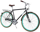 Zycle Fix City Series Seven Speed Comfort Bike Black Skies 50 / 54 / 58