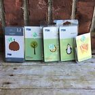 5 QuicKutz Paper Die Cuts Packages From Hobby Lobby Penguin Tree apple Pumpkin