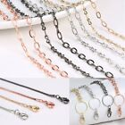 Gold Silver Rose gold Chain For Floating Charm Glass Locket Necklace Pendant New