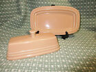 Apricot Fiesta Butter Dish w Lid, Unused, Retired Color