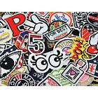 24pcs random assorted Sew-on Embroidered patch Motif Applique New
