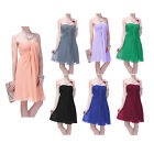 Formal Dress Bridesmaid Wedding Party Prom Ball Elegant Evening Gown 0 18