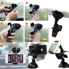 Dual Use Universal 360 Car Desktop Clip Clamp Suction Mount Holder For Cellphone