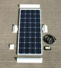 100W Solar Panel Complete Kit For 12V battery Motorhome Camper Caravan Boat