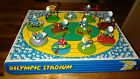 Smurfs OLYMPIC STADIUM DISPLAY with lot of 11 Sports Smurf Figures Very Rare