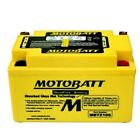 NEW MotoBatt AGM Battery For Adly Activator 125 / Cat 125 / NB125 Noble Scooters