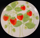 Salad Plate in Wild Strawberry by Fitz & Floyd