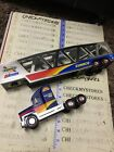 1999 Sunoco Car Carrier Truck Auto Transport 1:38 ,truck And Carrier Only No Car