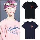 KPOP SEVENTEEN17 Shirts Concert Cotton Round Neck Top Tee Loose Lovers T-Sirts