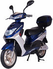 X Treme XB 504 Electric Bicycle Scooter Moped 12 AMP Battery System Blue NEW