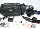 CANON EOS Rebel T3i + EF S 18 55mm IS lens +BagSoftwareChargercable battery