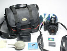 CANON EOS Kiss Digital X AKA Rebel XTi + EF 35 80mm lens +Bag Software CF card