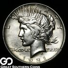 1921 Peace Dollar High Relief BU++ Key Date  Free Shipping