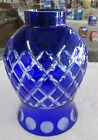 Cobalt Blue  Clear Diamond Cut Shade Great Color  Quality