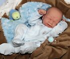 ITS A BABY BOY Crying PREEMIE Berenguer Life Like Reborn Pacifier Doll +Extras