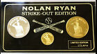 1993 Nolan Ryan Strike-Out Edition Proof Set