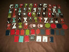METAL LETTERS ALPHABET SOUP MAGNETIC 3 1 2 LOT OF 73 NEW LETTERS