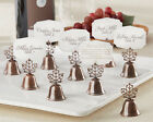 48 Kissing Bell Place Card Photo Holder Fall Wedding Favors Autumn Wedding Favor