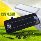 12V 45W Power Solar Panel Monocrystal Battery Charger Portable For Car Boat