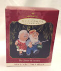 HALLMARK KEEPSAKE CHRISTMAS ORNAMENT THE CLAUSES ON VACATION 1997 FIRST SERIES