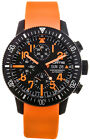 Fortis B-42 Black Mars 500 Automatic Chrono Mens Watch LimitedEd 638.28.13.SI.19