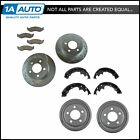 Nakamoto Ceramic Brake Pads Shoes Drums & Performance Drilled Slotted Rotor