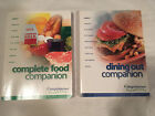 Lot 2 WEIGHT WATCHERS 2003 COMPLETE FOOD Dining out WINNING POINTS 9 03