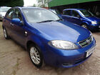 LARGER PHOTOS: 2005 DAEWOO LACETTI 1.6 SX BLUE - VERY CLEAN WITH S/HISTORY - 2 PREVIOUS OWNERS