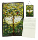 Louis Tiffany Northrop Memorial Window Collection Tree of Life Stained Glass Art