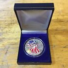 1999 American Eagle Silver Dollar Painted Lady 1 Oz Fine Silver Coin with Box