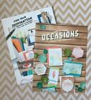 NEW Stampin Up 2016 2017 Annual Catalog  Idea Book with Occasions LOT