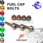 FRW 6Color Fuel Cap Bolts Set For Honda CBR1000RR Fireblade 04-07 04 05 06 07