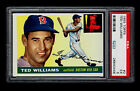1955 Topps #2 Ted Williams PSA 5 Red Sox