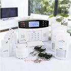 Wired GSM SMS Autodial Home Alarm System +5 Door Sensors