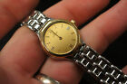 LADIES OMEGA DEVILLE 18KT AND SS