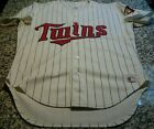 Rawlings Minnesota Twins Authentic Jersey Size 44 0007R wash tag game model