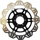 EBC New Brake Disc Front Cross drilled Honda Motorcycle GL1800A Gold Wing ABS
