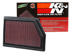 K&N 33-5009 Replacement Air Filter 2014-2018 Jeep Cherokee 2.4L 3.2L