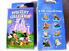 Disney  WDW MOVIE CHARACTERS New in Box 2 Pin Mystery Box