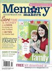 Memory Makers magazine Family projects Scrap budget Change sketch sizes Layouts