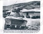 1956 Tablat Algeria French Army Search Village for Suspected Rebels Press Photo